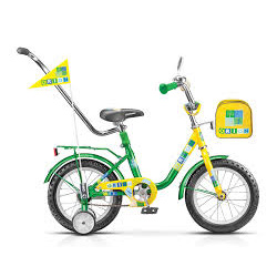 """Велосипед детский STELS Flash с ручкой 14"""""""